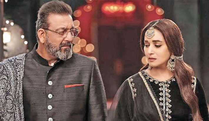 Sanjay on working with Madhuri: The one scene we did together in Kalank was amazing