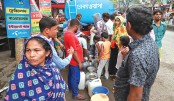 Badly Hit by  Water Scarcity