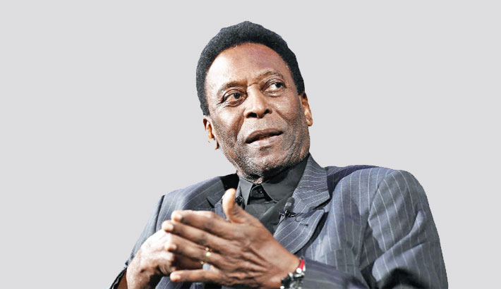 Pele feeling 'much better' after treatment