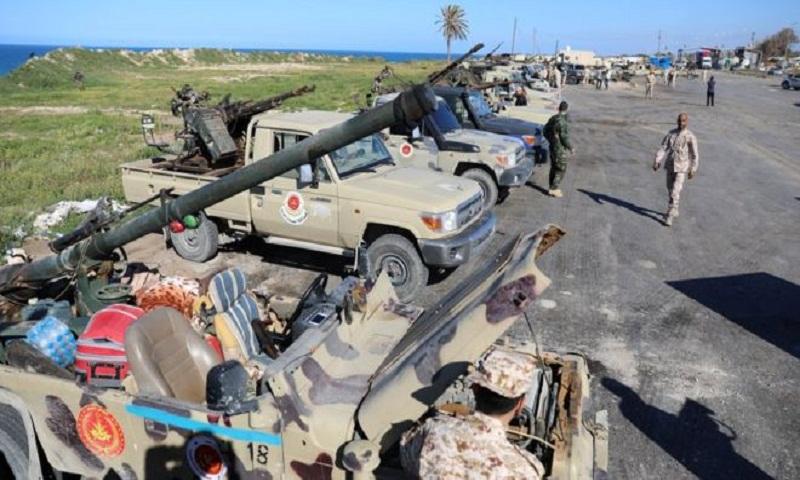 Libya crisis: Prime Minister Fayez al-Serraj vows to defend Tripoli