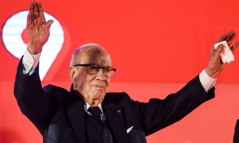 Tunisia's 92-year-old president will not seek re-election