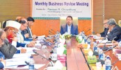 Al-Arafah Islami  Bank holds business  review meeting