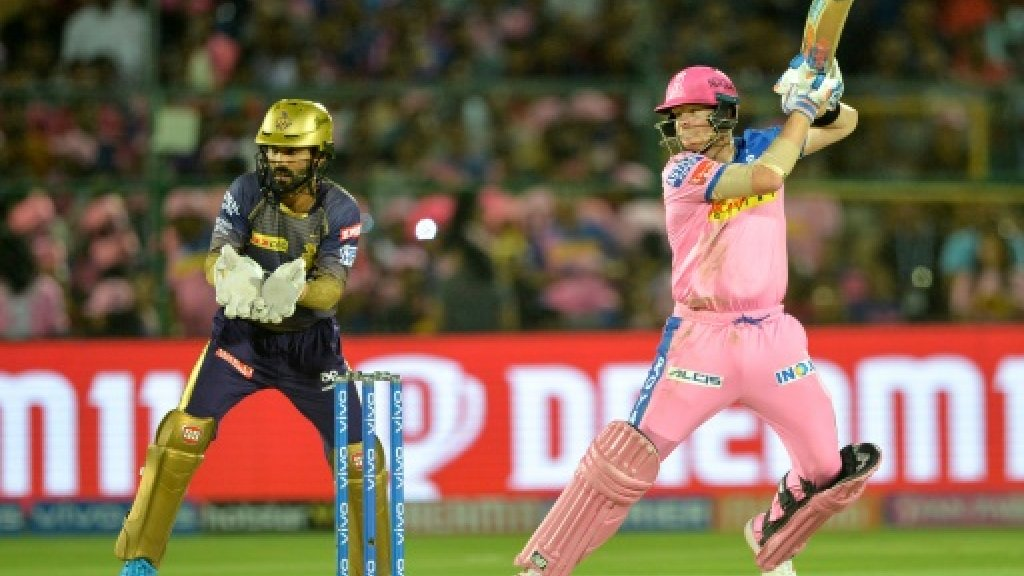 Smith hits 73 but Rajasthan lose in IPL