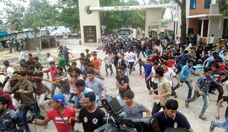 Chhatra League's strike continues at Chittagong University