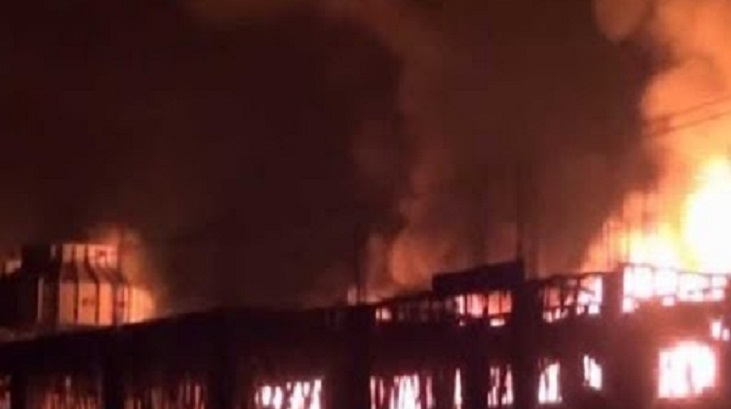 Fire at spinning mill in Cumilla EPZ doused