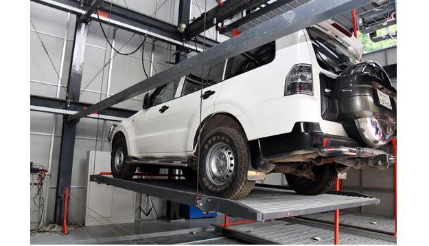 Digital multi-level car parking opens at DMP