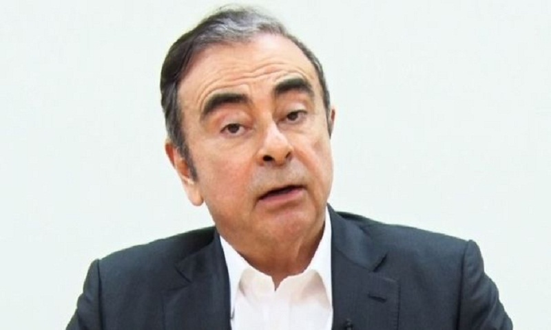 Ghosn says 'backstabbing' behind his arrest