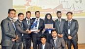 Students of Southeast University won the championship