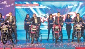 TVS launches  5 new bikes in Bangladesh
