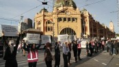 Australia animal activists shut down streets and storm slaughterhouses