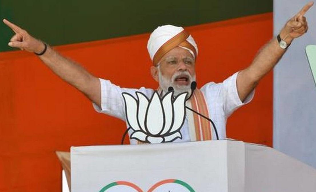 Congress responsible for creation of Pakistan: Narendra Modi