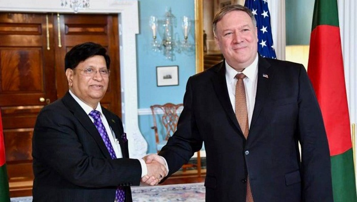 Bangladesh seeks US support to create safe zone in Rakhine for Rohingyas
