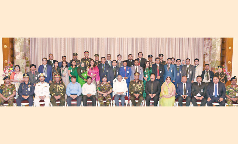 Members of Capstone Course- 2019-1 of National Defence College