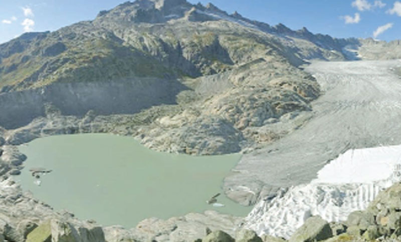 Two-thirds of glacier ice in the Alps 'will melt by 2100'