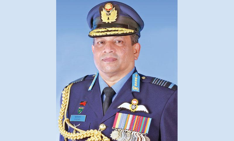 Air chief departs for Saudi Arabia