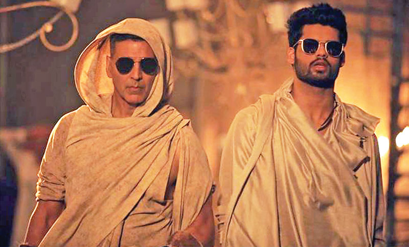 Akshay shoots special song for brother-in-law