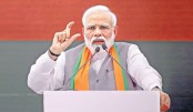 Congress responsible for creation of Pakistan: Modi