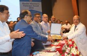 Institute of Child and Mother Health (ICMH) receives Health Minister National Award-2018