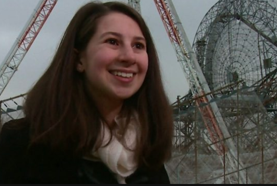 The woman behind the first black hole image
