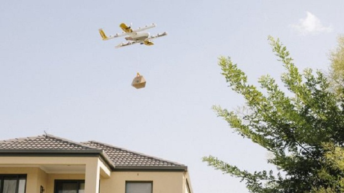 Google Wing launches first home delivery drone service