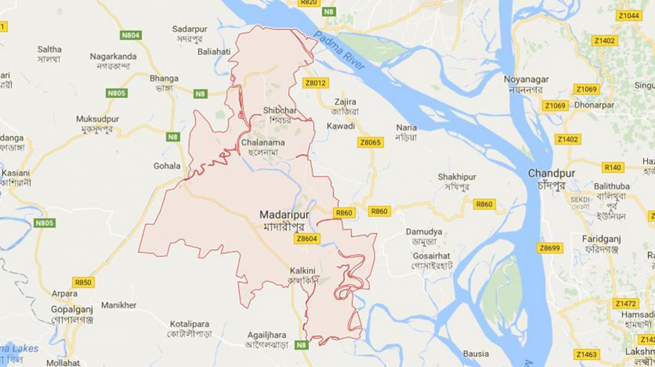 Two killed in Madaripur road crash