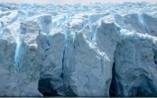 Siren sounds on nuclear fallout embedded in melting glaciers