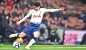 Son Heung seizes initiative for Spurs