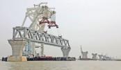 10th span of Padma Bridge installed