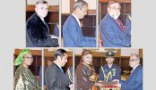 Envoys of six countries present credentials to President