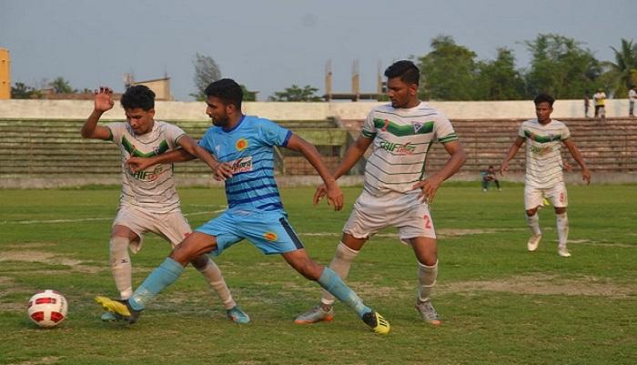 Chittagong Abahani beat NoFeL SC 3-0 in BPL Football