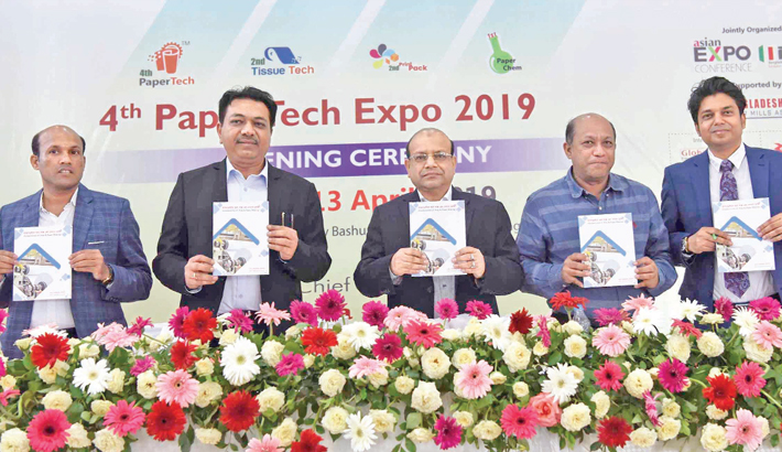 Paper industry growing fast