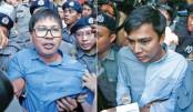 Jailed Reuters journos in Myanmar win UN press freedom prize