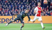 Ronaldo hits again but Ajax refuse to be bowed