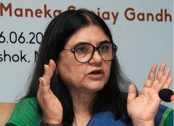 Maneka Gandhi's speech referring to Muslim voters goes viral