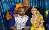 Actor Rubel's son Niloy ties knot with Moroccan Jainab