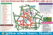 DMP's traffic plan on Pahela Baishakh