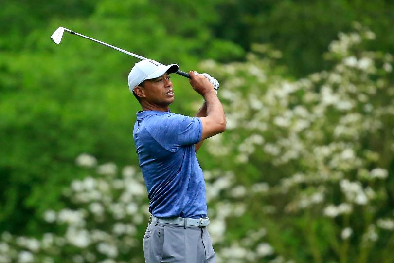 Tiger makes a Masters logjam look even larger