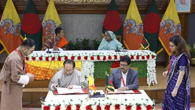 Bangladesh, Bhutan sign five bilateral documents