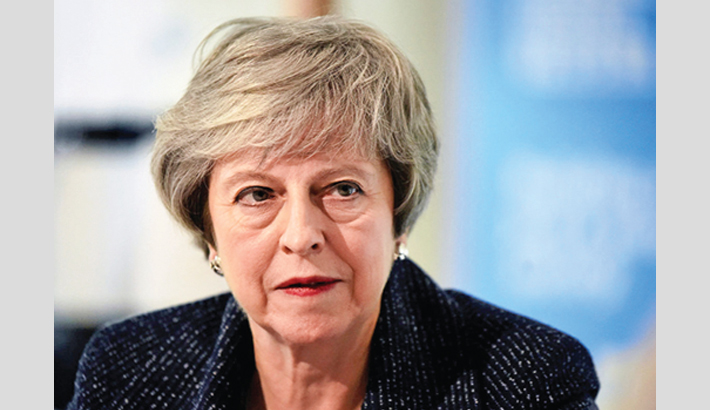 May faces quit call after securing Brexit delay