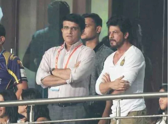 Shah Rukh Khan posts special message for Sourav Ganguly