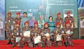 Brac honours  fire-fighters