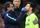 Messi to sit out league match ahead of Manchester United visit