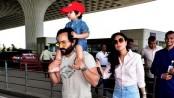 Saif Ali Khan gets angry over paparazzi clicking Taimur