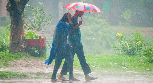 Rain, thundershower likely over country
