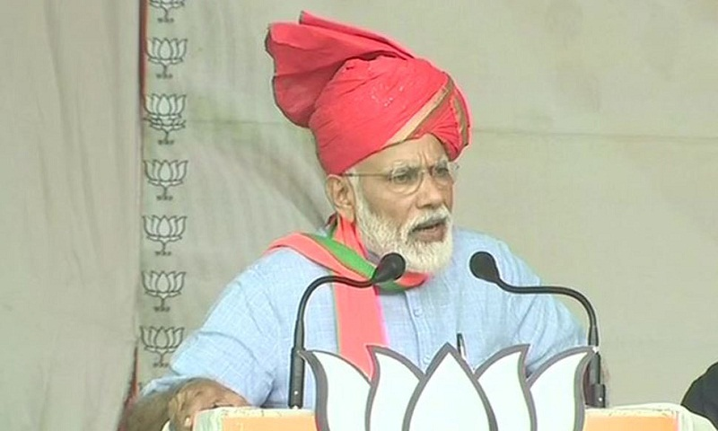 PM Narendra Modi vows to not allow Muftis and Abdullahs to divide India