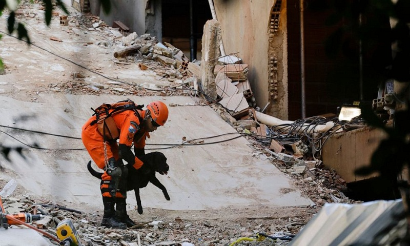 Death toll from collapse of buildings in Brazil rises to 8