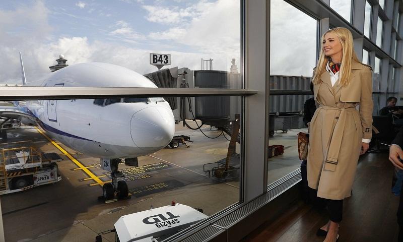Ivanka Trump in Africa to promote women at work program