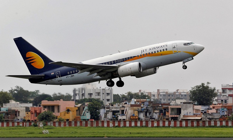 1,100 Jet Airways pilots decide not to fly from Monday: Report