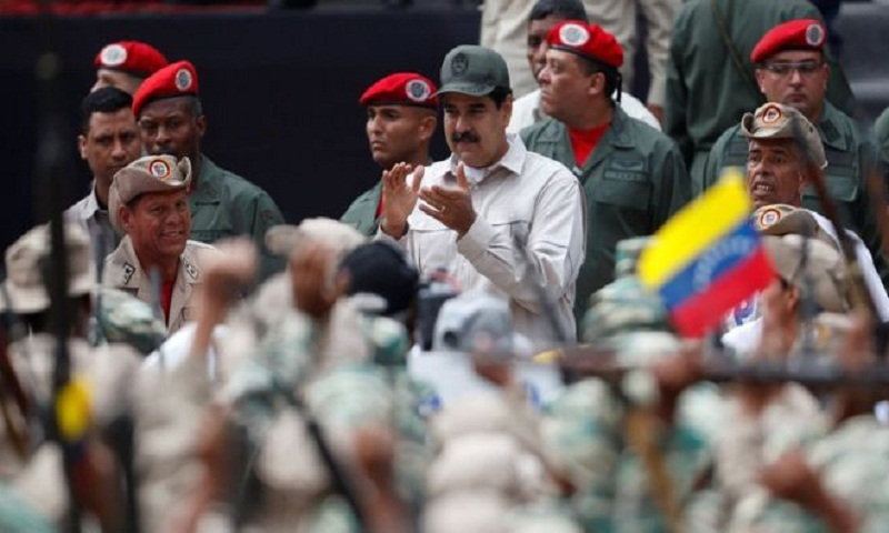 Venezuela crisis: Maduro calls for million more militia members