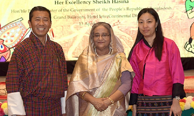PM hosts banquet in honour of Bhutanese premier